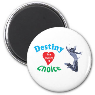 Believe in destiny 2 inch round magnet