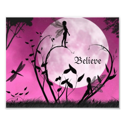 Believe in fairies 10X8 Print Photo Print