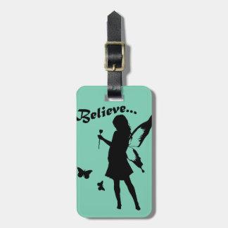 Believe in Fairies Bag Tags