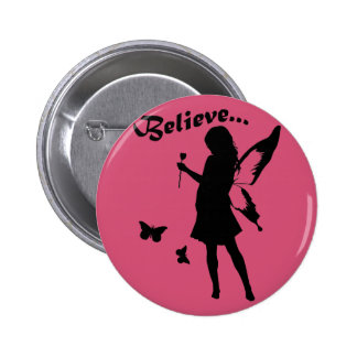 Believe in Fairies Buttons
