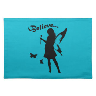 Believe in Fairies Cloth Place Mat