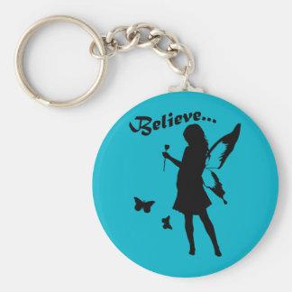 Believe in Fairies Key Chain