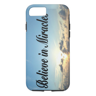 BELIEVE IN GOD'S MIRACLES iPhone 7 CASE