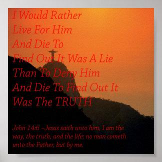 Believe In Him Poster