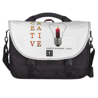 Believe in Idea Crossword Puzzle Commuter Bag