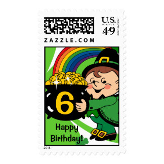 Believe In Leprechauns Custom Postage