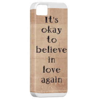 Believe in love again. iPhone SE/5/5s case