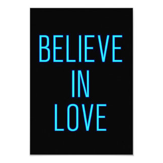 BELIEVE IN LOVE EXPRESSIONS QUOTES MOTTOS CARD