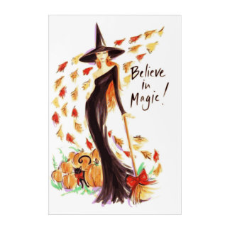 BELIEVE IN MAGIC ACRYLIC PRINT