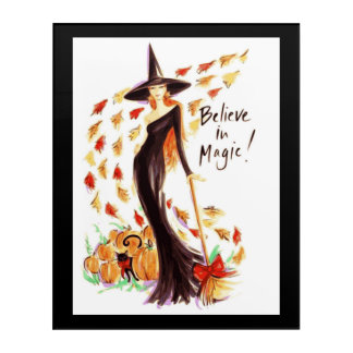 BELIEVE IN MAGIC ACRYLIC WALL ART