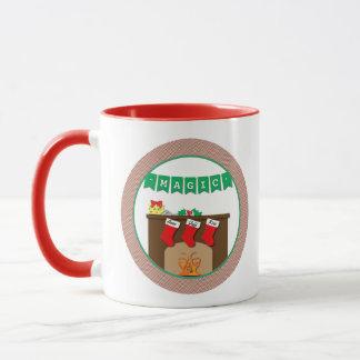 Believe in Magic Night Before Christmas 3 Stocking Mug