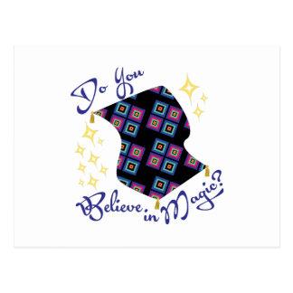 Believe In Magic Postcard