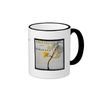 Believe in Miracles Grey of Life fade into Color Mug