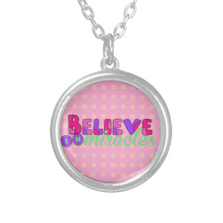Believe in Miracles Custom Necklace