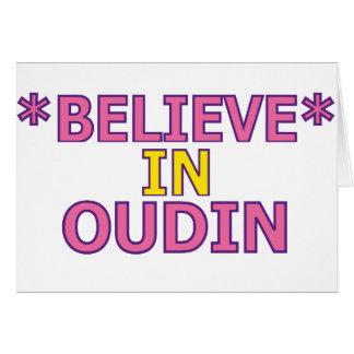 Believe in Oudin Card