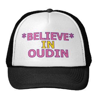 Believe in Oudin Trucker Hats