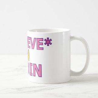 Believe in Oudin Coffee Mugs