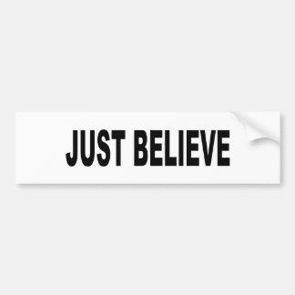 Believe In Peace Bumper Sticker