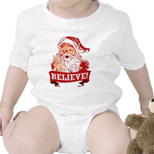 Believe In Santa Claus Tees