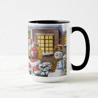 Believe in Santa coffee mug