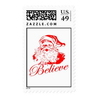 Believe in Santa Stamp