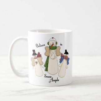 Believe In Snow Angels Classic White Coffee Mug