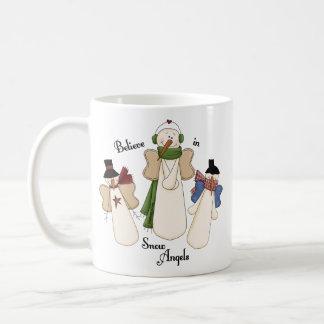 Believe In Snow Angels Coffee Mug