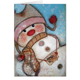 Believe in Snowmen Card