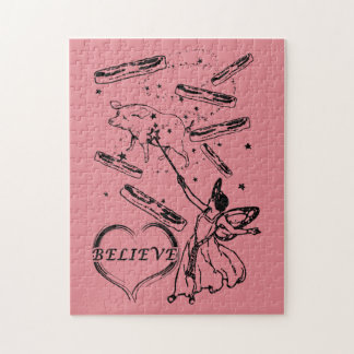 Believe in the Bacon Fairy Jigsaw Puzzle