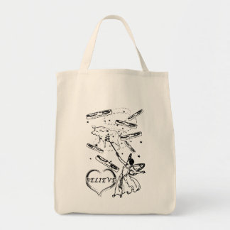 Believe in the Bacon Fairy Tote Bag