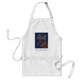 believe in the extraordinary adult apron