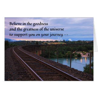 Believe in the goodness... greeting card