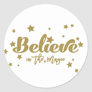 Believe in the Magic | Christmas Holiday Sticker