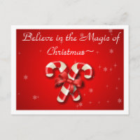 Inmate cards zazzle believe in the magic of christmas inmate post card m4hsunfo