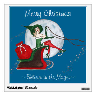 Believe in the Magic of Christmas Wall Sticker