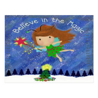 Believe in the Magic! Postcard