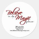 Believe in the Magic Sticker