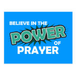 Believe in the Power of Prayer Postcard
