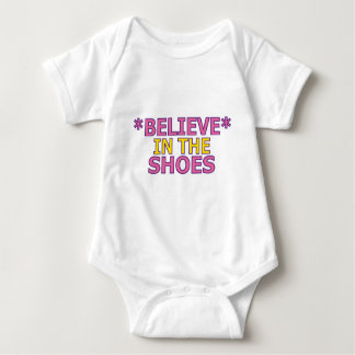 Believe in the Shoes (Oudin) Baby Bodysuit