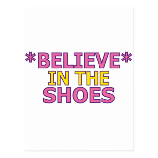 Believe in the Shoes (Oudin) Postcards