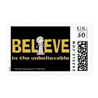Believe in the Unbelievable Postage