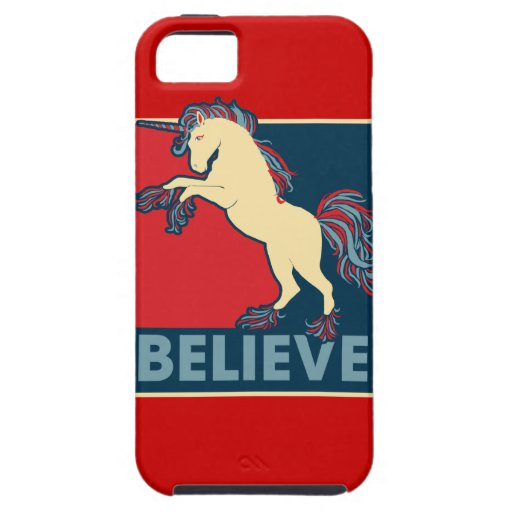 Believe in the Unicorn iPhone 5 Cover