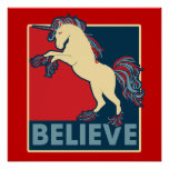 Believe in the Unicorn Poster