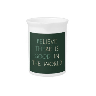 Believe in the World Pitcher
