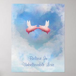 Believe In Unbelievable Love Poster