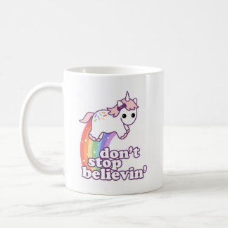Believe in Unicorns Coffee Mug