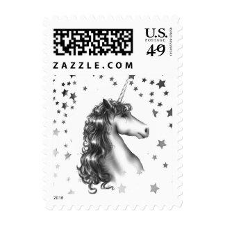BELIEVE IN UNICORNS stamps