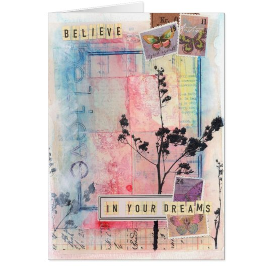 Believe in Your Dreams Card