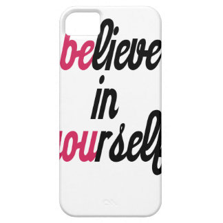 Believe in your self(3).png iPhone SE/5/5s case