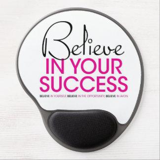 Believe in Your Success Gel Mousepad
